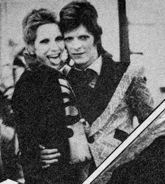 I never found Angela Bowie'sandrogynous looks all that appealing, but there was something glittering and wonderful about her and David in ...