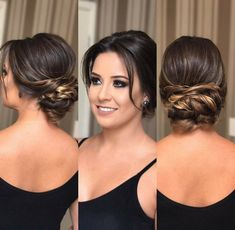 57 new Ideas for wedding hairstyles with braids hairdos Braided Hairstyles For Wedding, Elegant Hairstyles, Hairstyles With Bangs, Bridal Hairstyles, Wedge Hairstyles, Hairstyle Men, Hairdos, Receding Hair Styles, Curly Hair Styles