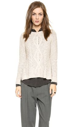 Madewell Marled Place Sweater