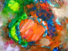 The abstract painting refers to a form that is not realistic or natural, which does not show such a form that we recognize as objects, or something that we see Best Abstract Paintings, Abstract Images, Oil Painting Abstract, Abstract Canvas, Oil Painters, Abstract Painters, Abstract Landscape, Pictures To Paint, Painting Pictures