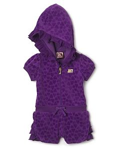 Juicy Couture Infant Girls' Heart Romper - Sizes 3-24 Months  PRICE: $88.00