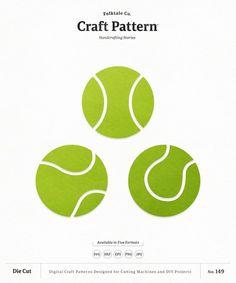 Tennis Svg Craft Pattern Tennis Ball Svg Sports Svg Tennis Etsy Tennis Ball Craft Patterns Tennis Ball Crafts