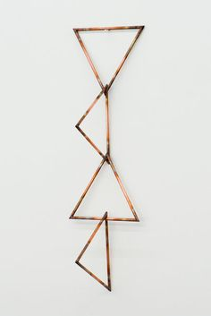 """Lorna Macintyre """"Every Phrase and Every Sentence is an End and a Beginning"""", Copper. Copper Interior, Decoration, Diy Art, Office Decor, Contemporary Art, Design Inspiration, Sculpture, Prints, Jewelry"""