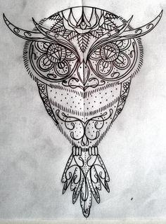 sugar owl by swetattoo.deviantart.com on @deviantART