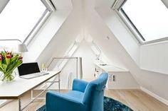 Spitzboden, Arbeitszimmer, Foto: Velux