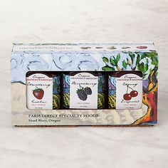 Oregon Growers Summer Selection Jam Gift Trio | eBay