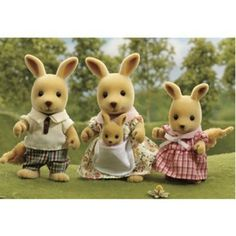 Calico Critters Kangaroo Family. I have this one and it's  the latest addition to my 5 families.