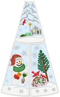 Snowman Christmas Tree Skirt Snowman Christmas Tree Christmas Tree Skirt Christmas Snowman