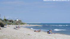 La playa can de Vinaròs (Castellón): Playa de Aiguadoliva   www.romeogara.wordpress.com
