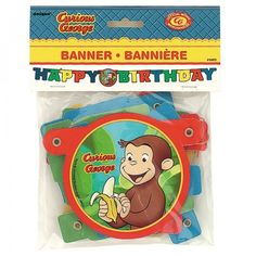 Curious George Birthday Party Ideas and Supplies | MomsMags Birthdays