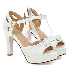 Summerwhisper Women's Sweet Bowknot Peep Toe Ankle Strap ... http://www.amazon.com/dp/B01F72T8IK/ref=cm_sw_r_pi_dp_v8knxb17SM6FQ