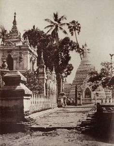 Kyoung, Amerapoora, Burma, 1855.  Linnaeus Tripe went from a career in the army to becoming an official government photographer, travelling extensively in India and Burma.
