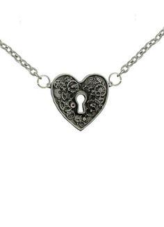 Steampunk Keyhole Heart