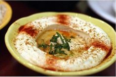 A Recipe for Lebanese Humus by David Wyld
