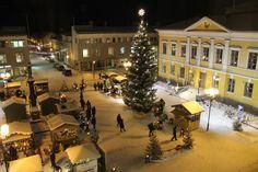 The annual Christmas Market in the Old Town of Kokkola | Vanhankaupungin Joulumarkkinat, Kokkola, Finland