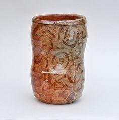 Mark Smalley Ceramics-Wood-fired beaker