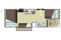 Rolstoelvriendelijke Camper / Wheelchair Accessible Motorhome -MH-27-SW- / Smart Wohnmobile