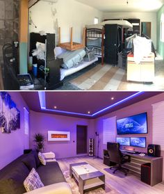 I've transformed unused garage into a music studio - Imgur
