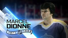 Marcel Dionne Born: August 1951 Drummondville, Quebec, Canada Position: Center Shot: Right Played for: Detroit Red Wings, Los Angeles Kings, New York Rangers National team: Canada Playing career: Hockey Hall of Fame: 1992 Montreal Canadiens, Lanny Mcdonald, Marcel Dionne, Ted Lindsay, Bobby Hull, Hockey Mom, Ice Hockey, Hockey Hall Of Fame, Red Wings Hockey