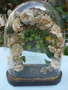 Ancien globe de mariée...vintage wedding globe