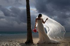 #SecretsMaroma is located on what many consider one of the top beaches in the world! Your wedding pictures will be stunning