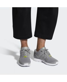 new product c4a57 a88d8 Adidas Zx Flux Womens Light Granite And Core White Shoes Adidas Zx Flux  Black, Adidas