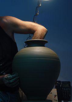 ATTIC BLACK features iconic, handmade pottery showcasing the Grecian heritage & culture. Handmade Pottery, Attic, Studio, Black, Home Decor, Loft Room, Decoration Home, Black People, Room Decor