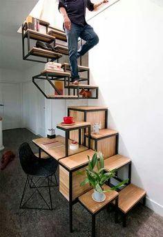 Escalera no convencional