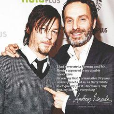 #TheWalkingDead: ☆Andrew Lincoln & Norman Reedus☆