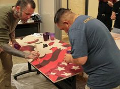 Art project aimed at helping troops heal: The mission of the Mural Project is to provide unique experiences and positively impact at-risk and underprivileged members of the community using art to teach, inspire, heal and add beauty to the community.