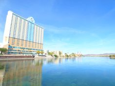 The Laughlin River Lodge from the Colorado River. Laughlin River, Reno Tahoe, River Lodge, Colorado River, Boat Tours, Royalty Free Photos, Beautiful