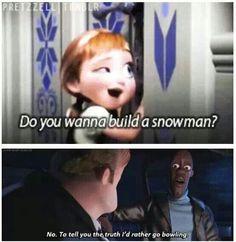 Frozen vs. The Incredibles