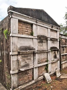 One of the famous above ground cemeteries - Lafayette Cemetery No. 1 - in the Garden District.