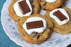 A Less Processed Life: What's For Dessert: S'mores Chocolate Chip Cookies
