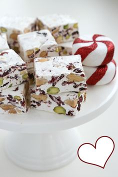 Christmas Nougat! Looks Delish!!