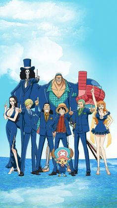 One Piece Mugiwaras