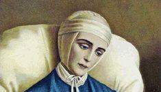 La Natività nella visione della beata Anna Katharina Emmerick, dal libro La Vita della Madonna: Alla presenza di cori angelici, di luce intensissima, la nat