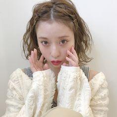 伸ばしかこ前髪もかわいくアレンジ♡ #れんちゃんアレンジ