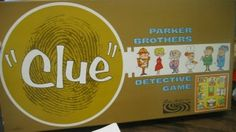 Toys of the 1960 - Clue