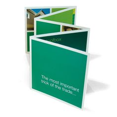 Fold out direct mail
