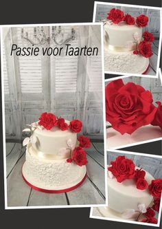 Wedding Cake by Passie voor Taarten