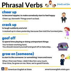 Phrasal Verbs: friends and fun