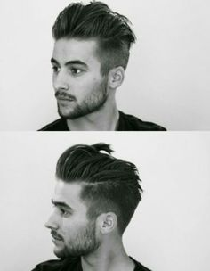 Trendy and Cool Hairstyles for the Modern Man Slicked back hair with an undercut Undercut Men, Undercut Pompadour, Undercut Hairstyles, Cool Hairstyles, Popular Haircuts, Cool Haircuts, Haircuts For Men, Haircut Men, Bangs With Medium Hair