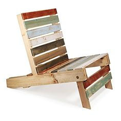 Magnetic Pallet Chair - $400 uncommongoods.com