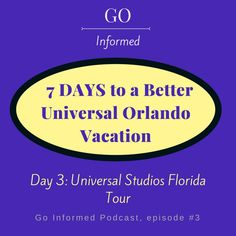 Free audio tour of Universal Studios Florida on the Go Informed podcast! #universalstudios #orlando #universalorlando