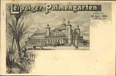 Leipzig, Leipziger Palmengarten, 29 April 1899