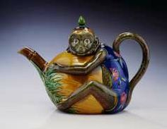Monkey teapot MINTON & CO. (BRITISH, b. 1793–PRESENT) C. 1900