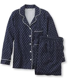 Free Shipping. Discover the features of our Pima Cotton Flannel Pajama Set, Print at L.L.Bean. Our high qualityWomen's Sleepwear Robes are backed by a 100% satisfaction guarantee.