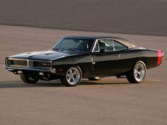 Dodge Charger RT 1969 Black