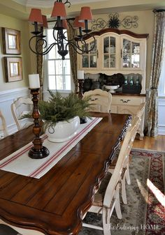 Love this China cabinet  and table